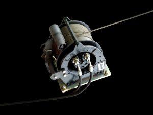 Treuil, câble 125m